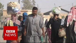 """Please take care of the people of Mosul""  - BBC News"