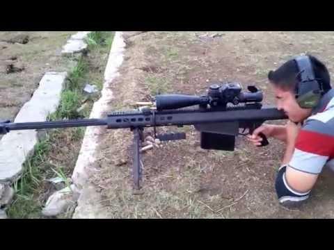 Menembak Sniper - Barrett M82A1 By PROsignal Indonesia
