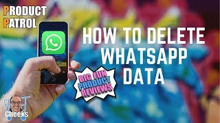 How To Delete Whatsapp Data On iPhone