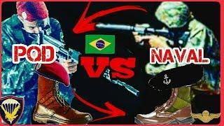 A Verdade Sobre A Richa PQD VS Fuzileiro Naval - Exército Brasileiro  Marinha do Brasil
