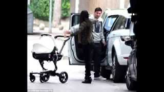 19-8-2013 MESSI AND HIS WIFE AND SON ENJOYING TIME WITH THIER FRIENDS! JUSTIN BIEBER!