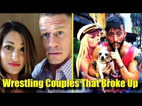 10 Wrestling Couples That BROKE UP John Cena Nikki Bella & More