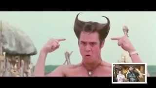 Funniest Cast of DBZ voice over movie scenes