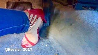 Revvlyn Gas Pedal Pumping High Heels & Tight Levi's Revving  Lincoln