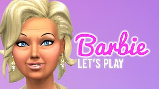 Let's Play The Sims 4 Barbie — Part 42 — Mall Shopping