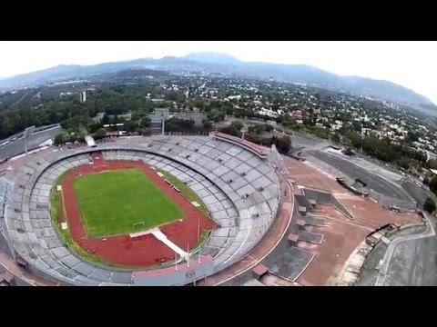 Xxx Mp4 VEHO MUVI X DRONE Estadio De CU 3gp Sex
