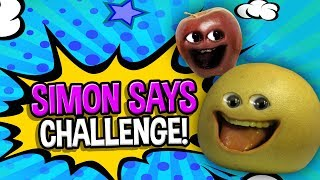 Annoying Orange - Simon Says Challenge!