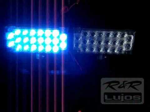 LED 22 Al estilo de policia Stroboscopica