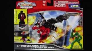 Power Rangers Super Megaforce Mystic Dragon Review!