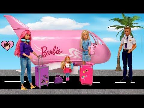 Xxx Mp4 Barbie Amp Chelsea Airplane Travel Trouble Barbie Dreamhouse Adventures Toys 3gp Sex