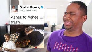 Gordon Ramsay ROAST Twitter Chefs AGAIN!!  (PT 2) | Alonzo Lerone