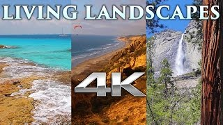 Living Landscapes in 4K | 4HRS of Pure Nature Relaxation™ Scenes UHD