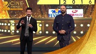 Zee Cine Awards 2016 Shahid kapoor & Rohit shetty
