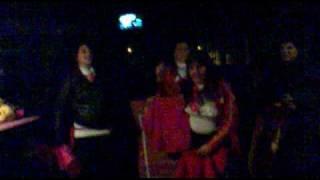 Toreras en el carnaval de Valdemanco