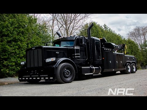 Peterbilt All Black with NRC 50CS Ready for the first call