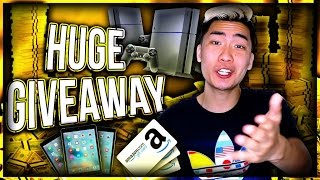 BIGGEST GIVEAWAY EVER!!! GIVING BACK TO MY REAL HOMIES #RiceGum3Mil