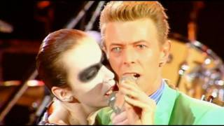 Queen & Annie Lennox  & David Bowie - Under Pressure - HD