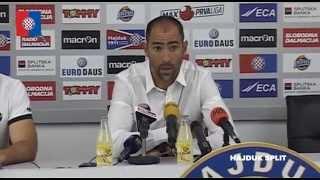 Tudor nakon Hajduk - Zadar 6:0