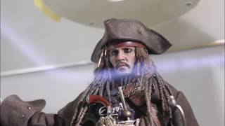 First Look ! Hot Toys DX15 JACK SPARROW 1/6TH SCALE COLLECTIBLE FIGURE (DMTNT )