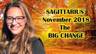 SAGITTARIUS November 2018. KING JUPITER Is BACK To GIVE BLESSINGS & HAPPINESS To His BELOVED SAGGIES