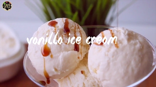 আইস ক্রিম | Homemade Vanilla Ice Cream | Only 3 Ingredients | How To Make Vanilla Ice Cream