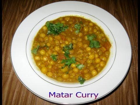 Matar Curry (Ghuguni) Recipe Video - PriyasRasoi.com