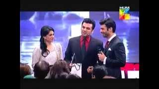 [English Sub] Fawad Khan about Sonam Kapoor || Funny Vasay Chaudry || Pakistan Hum TV awards 2014.