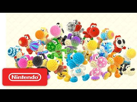 Poochy & Yoshi's Woolly World – Let's Get Adventuring