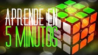 Aprende en 5 minutos a resolver el Cubo de Rubik 3x3 | Metodo Basico | Fernando Malvaez