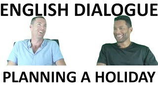 SAMPLE ENGLISH SPEAKING TEST:  DIALOGUE A HOLIDAY IN SCOTLAND (with subtitles)