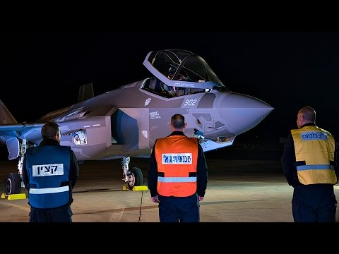 watch Israel Defense Forces's First F-35 Fighter Jets Land in Israel