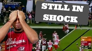 Alabama VS Clemson 2017 CFP National Championship: I can NOT believe this!