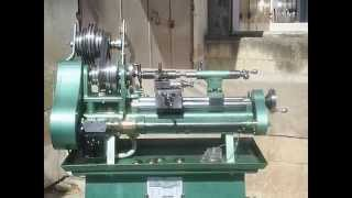 Home made METAL LATHE Scratch built from scrap and bar stock