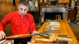 Northford Timber Framers: Timber Framing Class 2011 (Part 4: George Talks Tools)