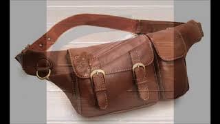 leather waist packs