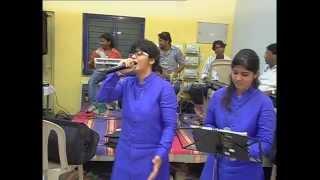 SALASAR HANUMAN BHAJAN -CHAPPAN BHOG SONG (AAVO AAVO BALAJI BEGA AAVO) SUNG BY PIPADA SISTERS