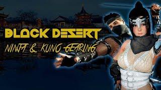 Black Desert   Ninja & Kunoichi Gearing