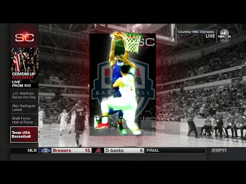 watch SportCenter: Team USA wins vs China 119-62 | Rio Olympics 2016 Basketball