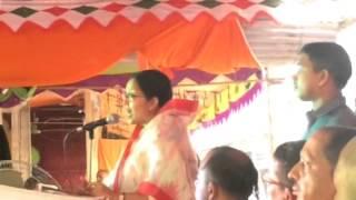 Keya Chowdhury Youth and Sports ministry MP @ ISKCON Sylhet