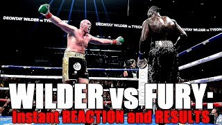 Deontay Wilder vs Tyson Fury: Results, Reaction, and Robbery?