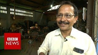 Jugaad Man: The Non-stop inventor  - BBC News