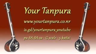 Your Tanpura - G Scale - 5 kattai