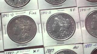 U.S. Morgan Silver Dollar Collection