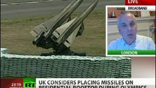 Missiles next door: London roofs on duty for safe Olympics