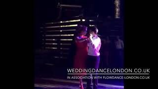 Zhenya and Jeremy sensual Argentine Tango Wedding First Dance, Lana Del Rey - Young and Beautiful