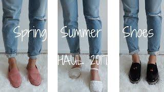 Spring-Summer Shoes Haul 2017 เปิดถุงช้อปปิ้งรองเท้า + Try on