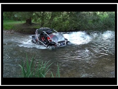 Buggy PGO 500 route chemin bois riviere GoPro