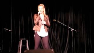 Emma Finley Sings Chandelier by Sia