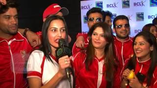 Raman Aka Karan Patel Against Ishita aka Divyanka - Box Cricket League 2014