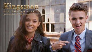 Kingsman: The Golden Circle   Jake Mitchell and Inanna Sarkis Attempt Kingsman Level Stunts
